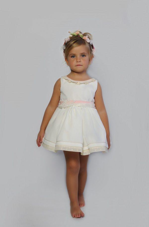vestido de arras blanco Carlota