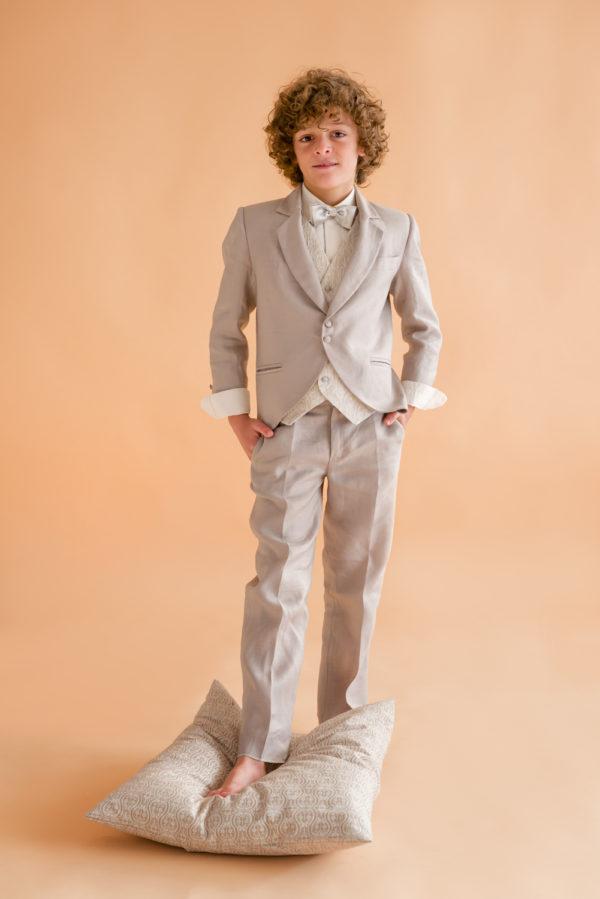 Pantalón de lino para niño