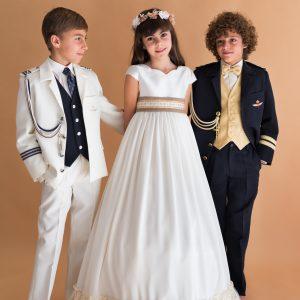 vestido y trajes de comunión