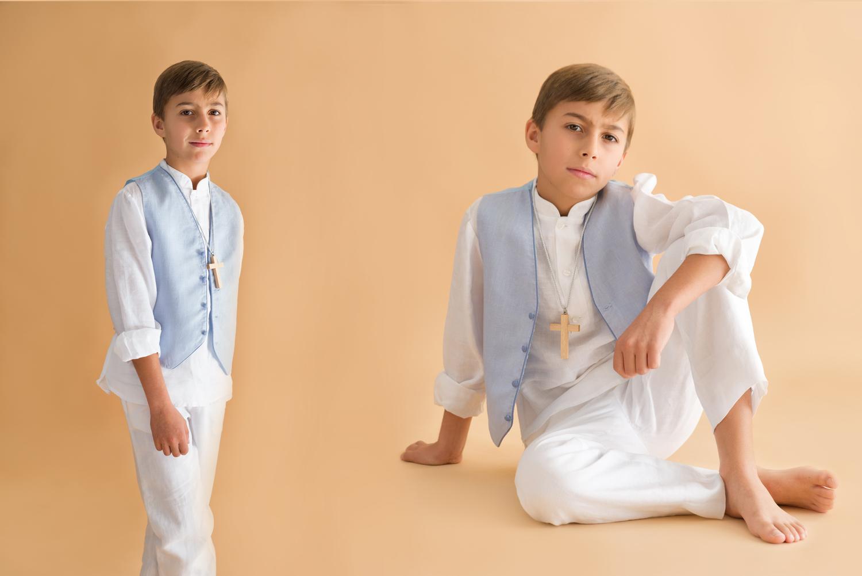 traje de comunión de lino mao
