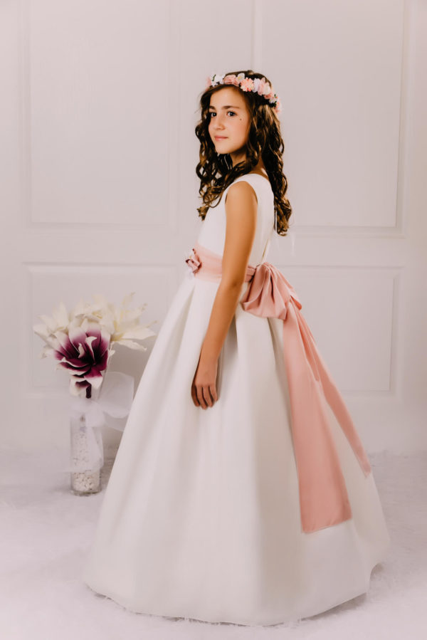 Vestido de comunión tul Laida