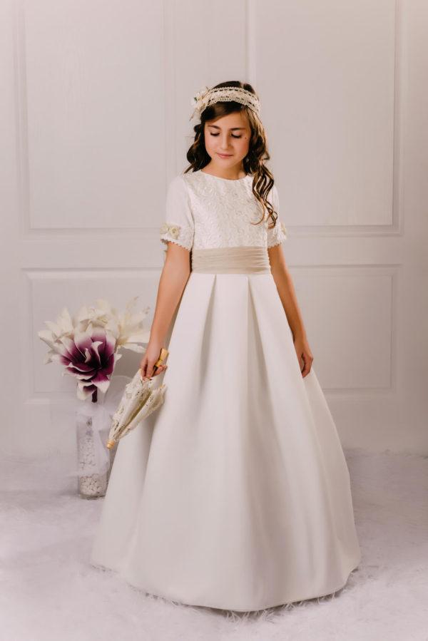 vestido de comunión lazo Caterina
