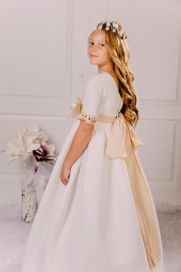 vestido de comunión puntilla Agnes