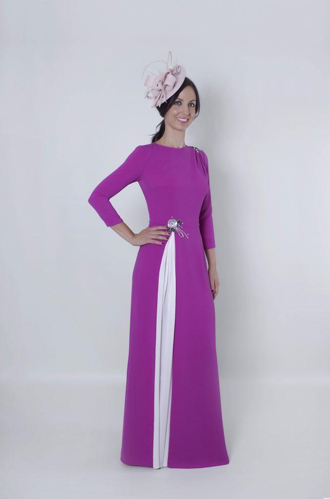 Vestido de madrina largo Arabbela