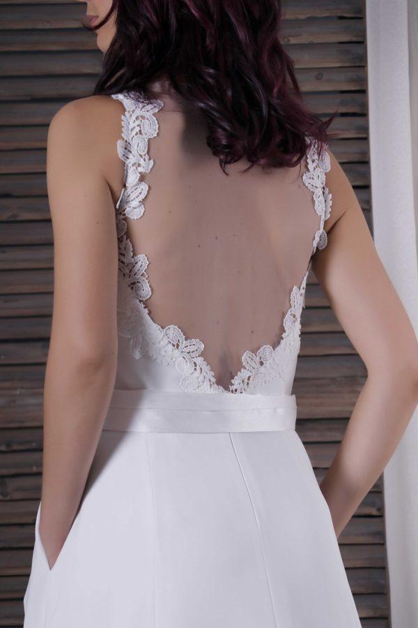 Detalles vestido de novia Alessia