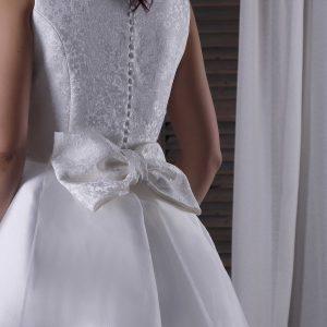 Detalles vestido de novia Arabela