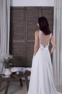 Espalda vestido de novia Alessia
