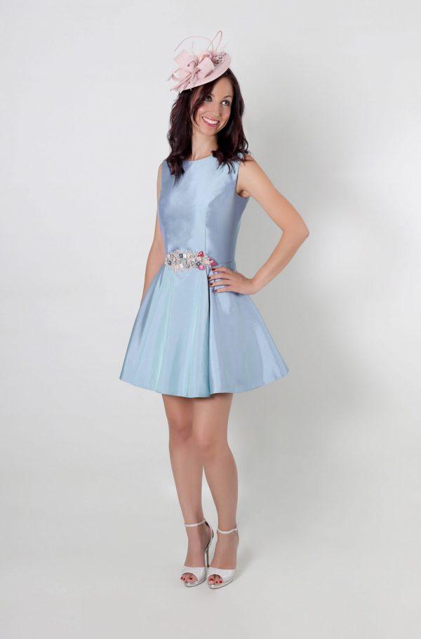 Vestido de fiesta corto Feliccia