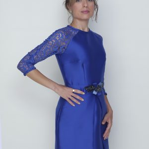 Vivalda vestido azul fiesta