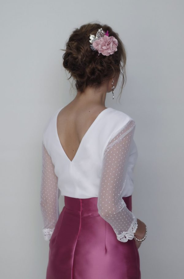 Conjunto blusa Greta y falda Bianca