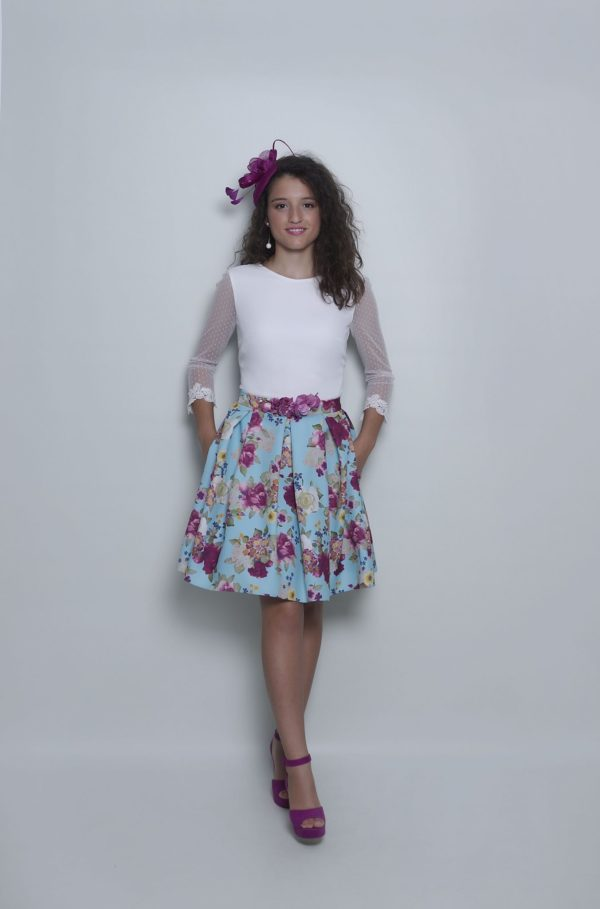Conjunto blusa Greta y falda Luzz