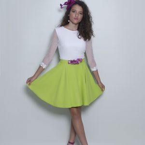 Conjunto blusa Greta y falda Amelie