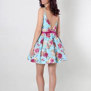 Katya vestido para fiesta con espalda mariposa