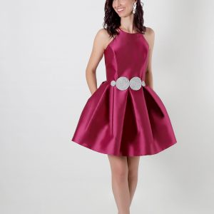 Vestido de fiesta corto Priscila