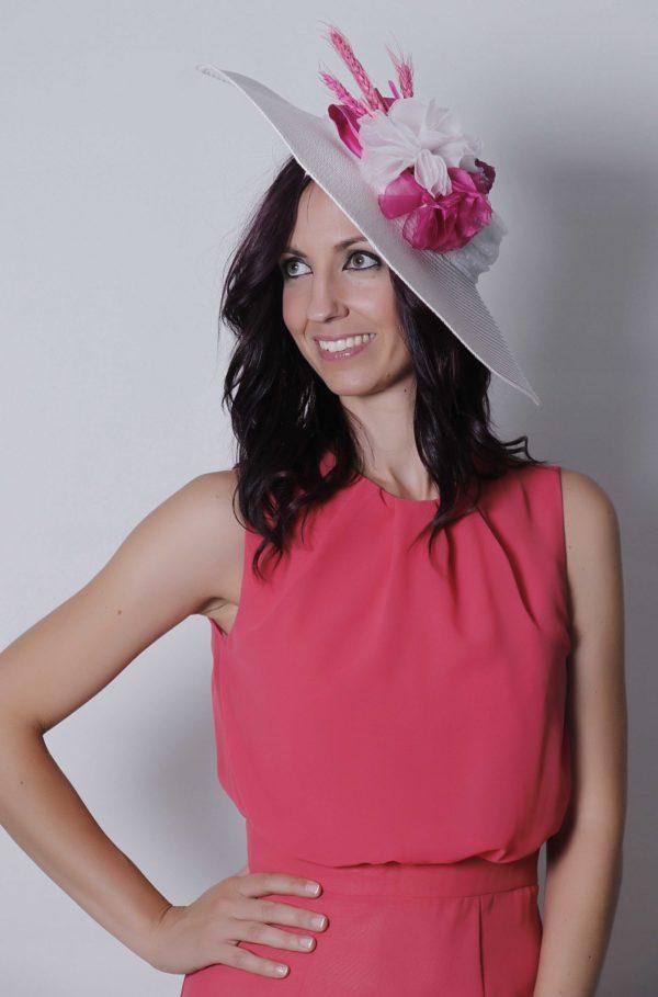 Vestido de fiesta Nydia en coral