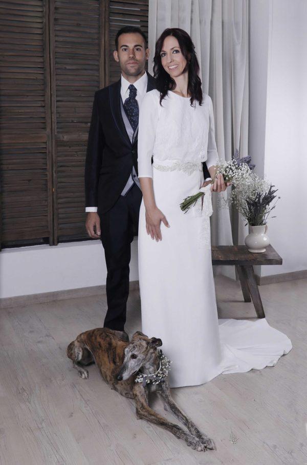 Vestido de novia Nicola