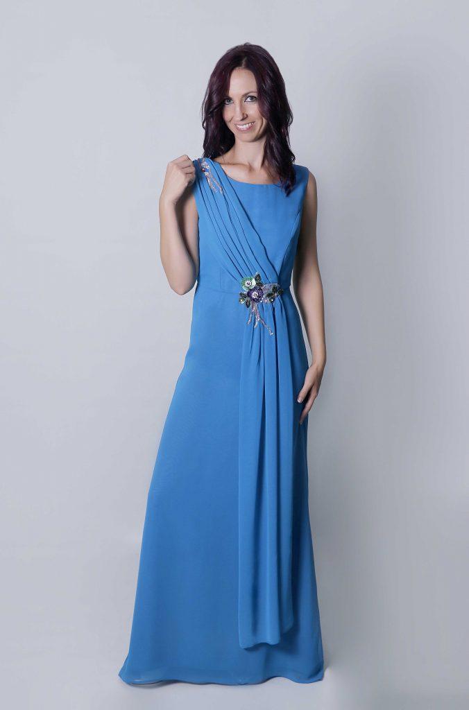 Tu boda romántica con el vestido de fiesta Zia