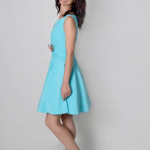 Kussia vestido en crepé para invitad