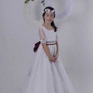 Vestido para primera comunión Lia
