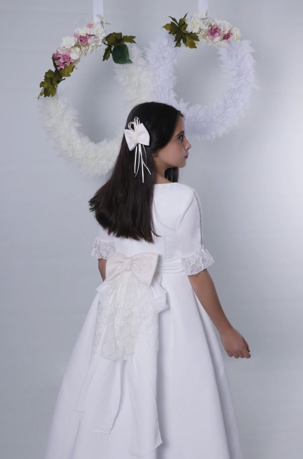 Vestido comunión tonos empolvados