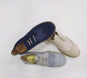 Zapato niño comunión tipo rústico