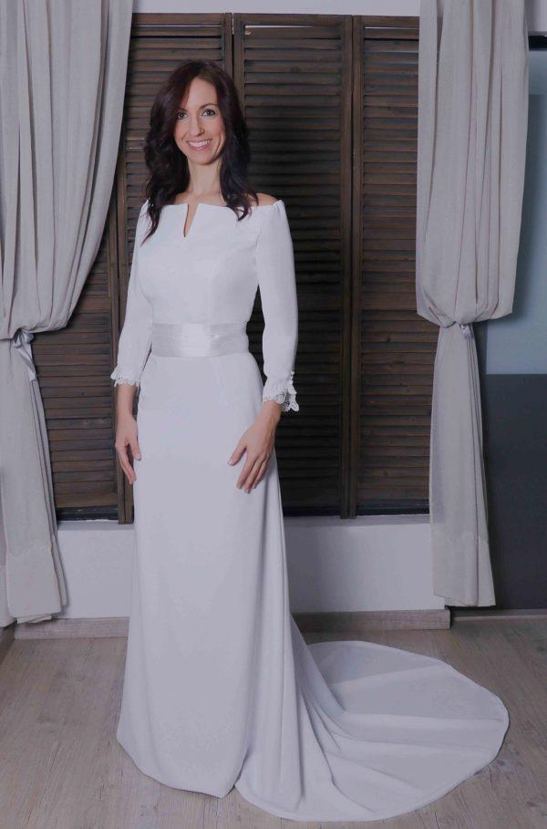 Vestido de novia Zala