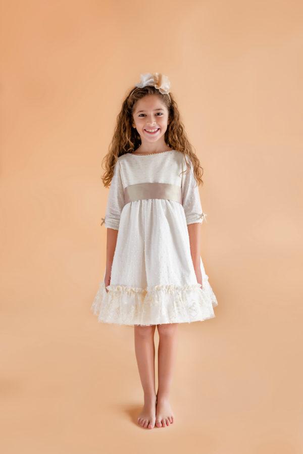 Candela vestido de fiesta para niña