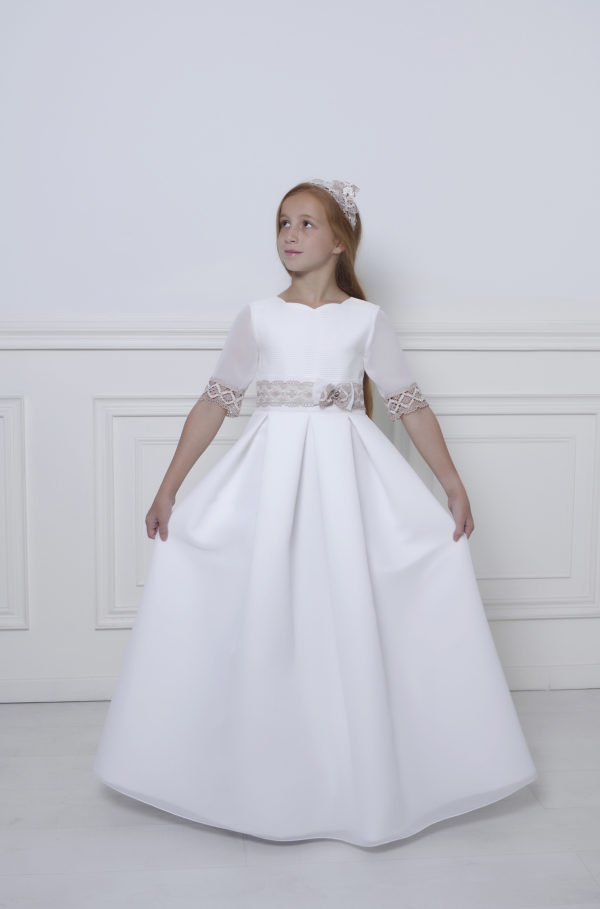 vestido de comunion para niña