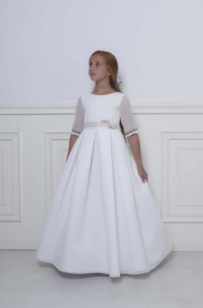 vestido primera comunion niña