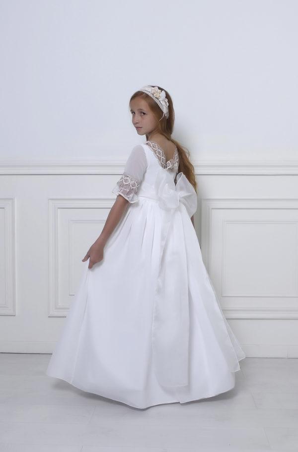 vestido de primera comunión niña