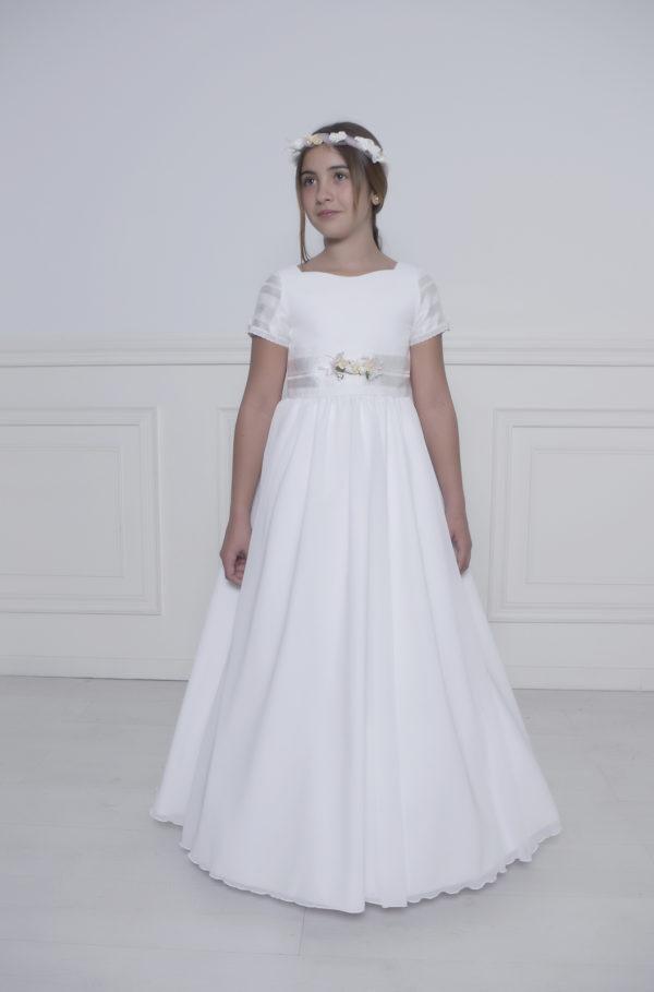 Vestido de comunión blanco