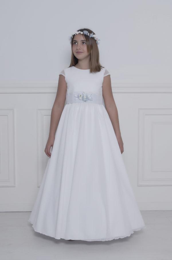 vestido para primera comunión para niña