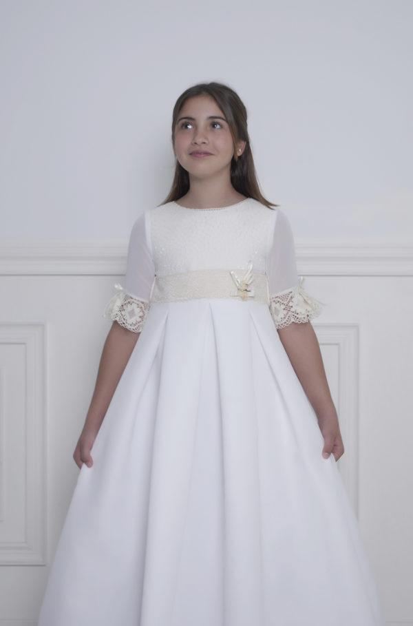 vestido para niñas comunión