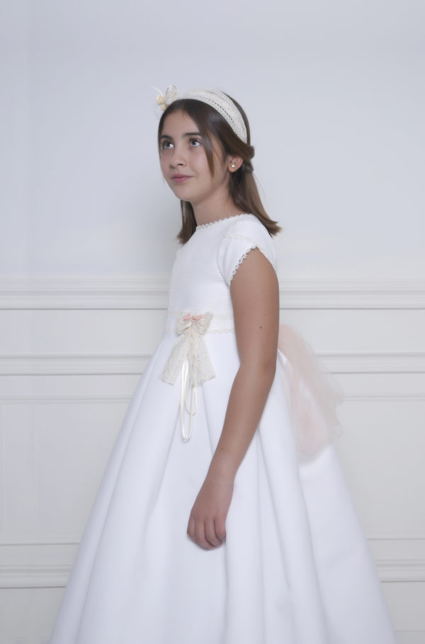 Vestido sencillo para primera comunión