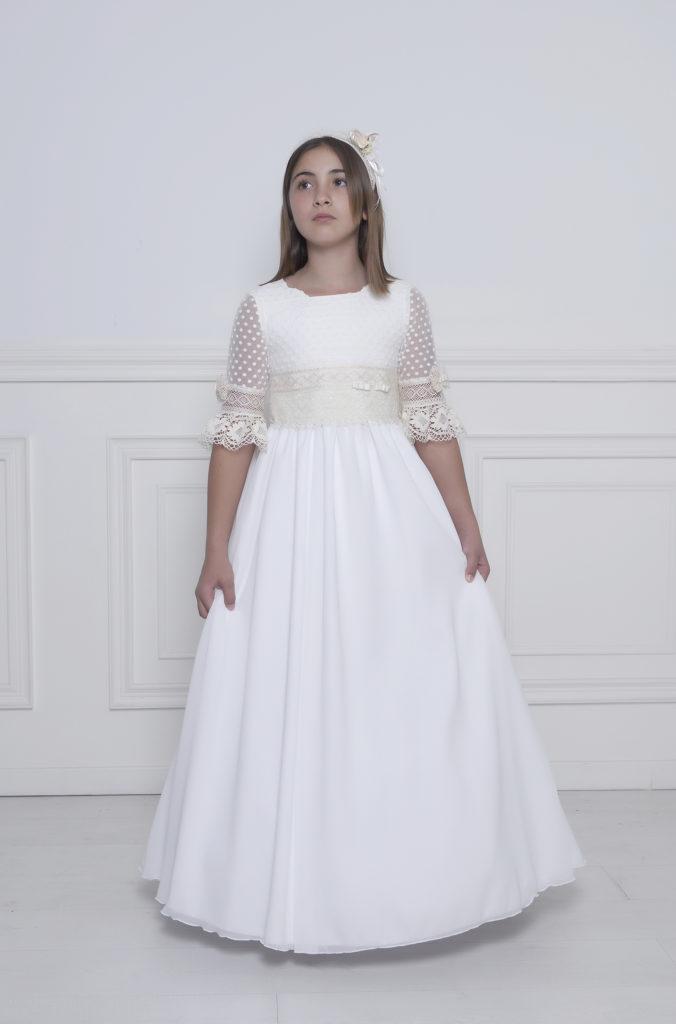 Vestidos modernos para primera comunión