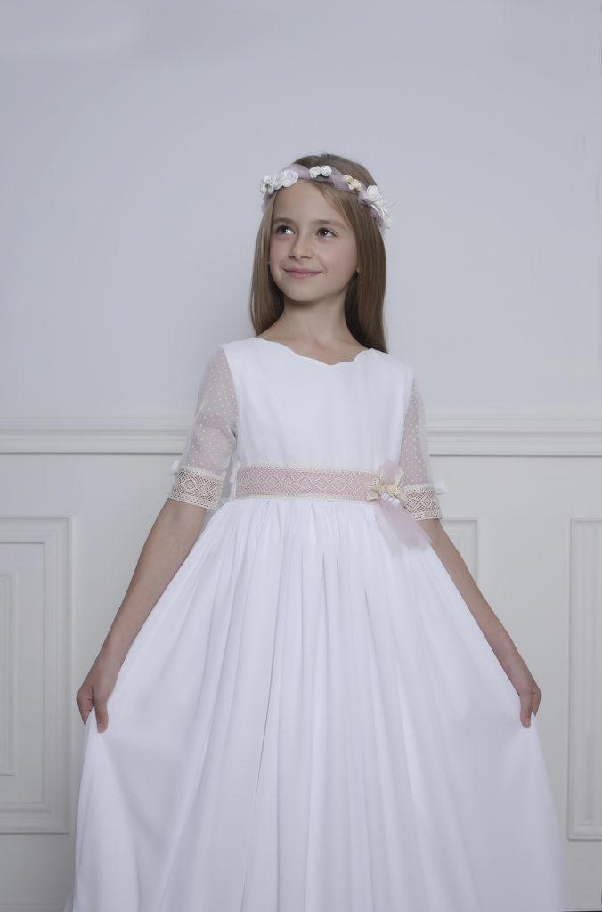 Vestido blanco comunión