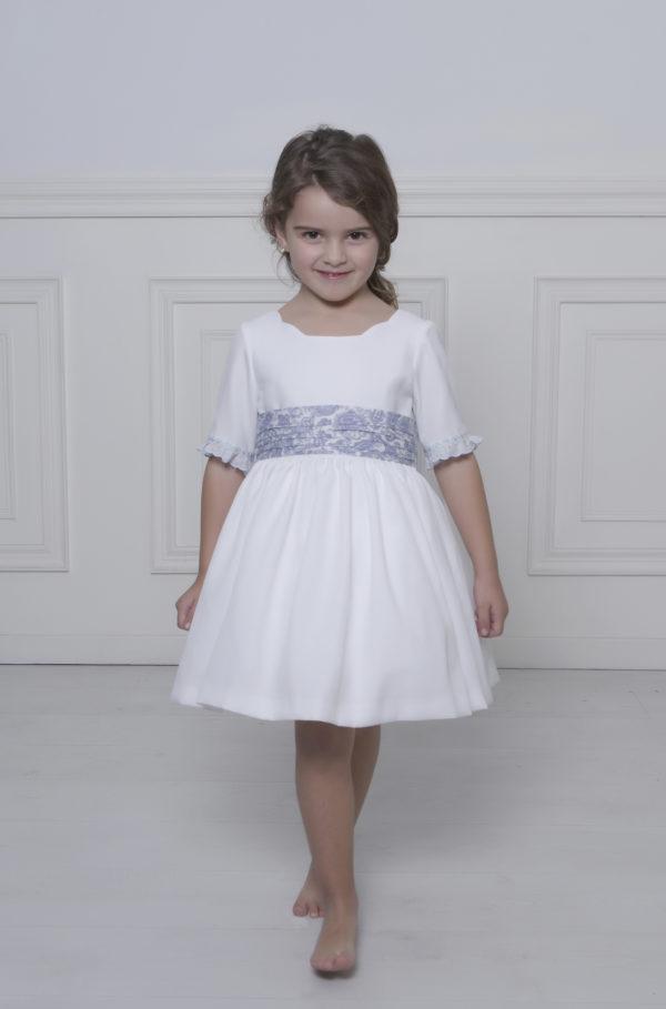 Vestido blanco niña arras