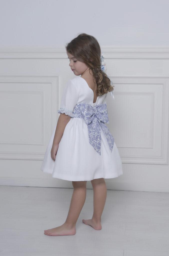 vestido blanco niña fiesta