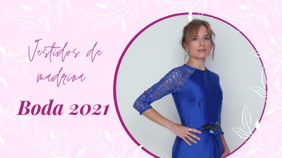 Vestidos de madrina boda 2021