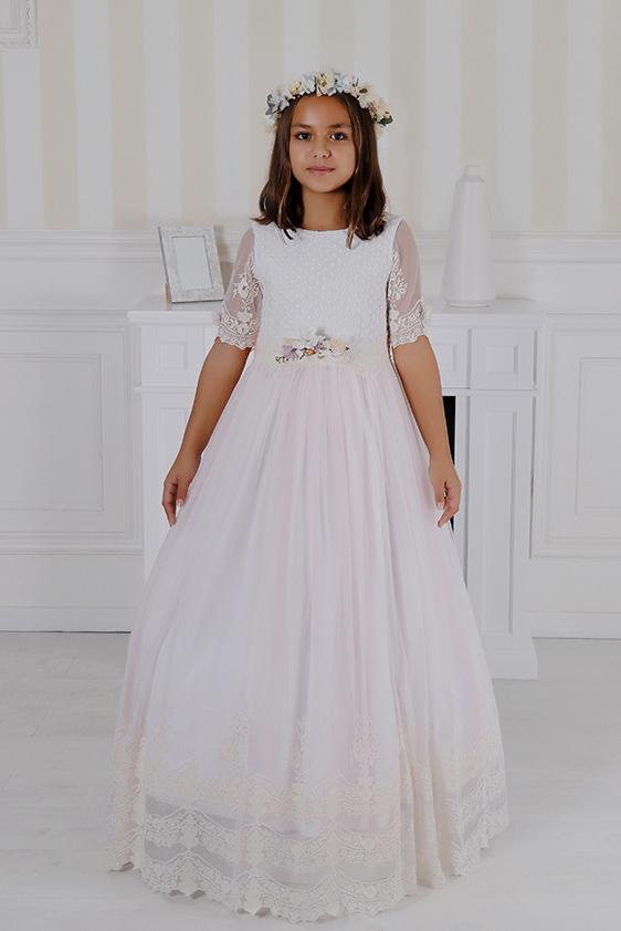 Vestido romántico niña comunión